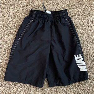Nike swim shorts, elastic waist with tie